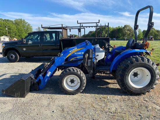 2010 NEW HOLLAND Boomer 50 TRACTOR 4x4