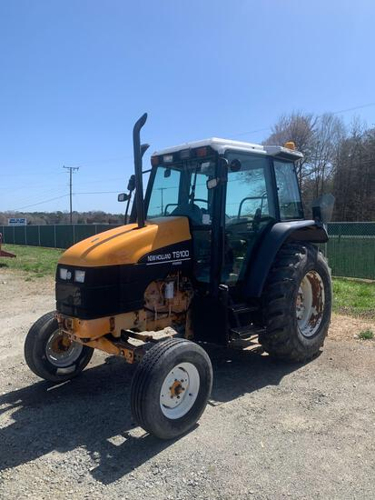 1998 New Holland TS100 2WD Tractor