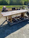10Ft Handmade Table