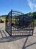 14FT Wrought Iron Gates
