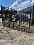 20FT Bi-Parting Wrought Iron Gate