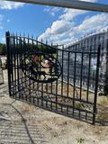 20FT Bi-Parring Wrought Iron Gate
