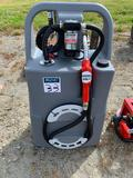 New 25 gallon diesel fuel caddy with 12v pump
