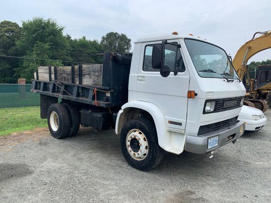 1990 Kenworth S/A Cabover Dump Truck