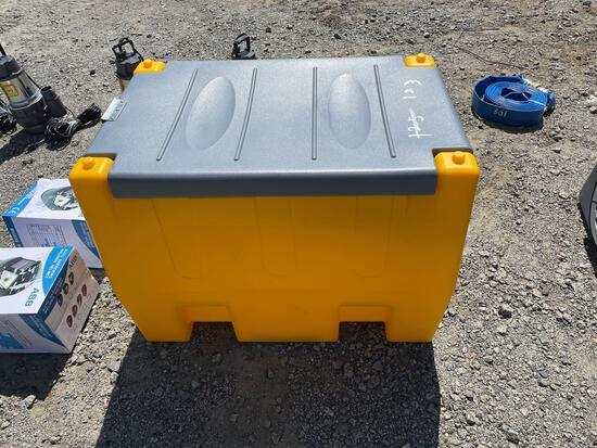 New 60 gallon poly diesel tank with 12v pump