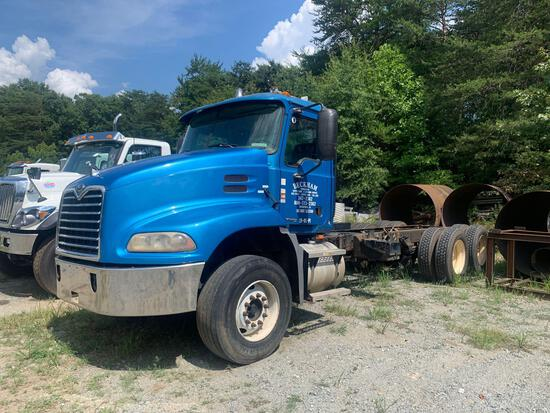 2004 Mack CX613 T/A Cab and Chassis Truck