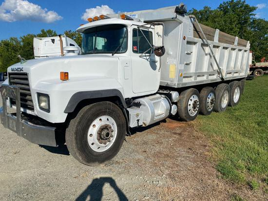 1999 Mack RD 688 Quad Axle Dump Truck