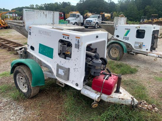 Schwing P88 Concrete Pump