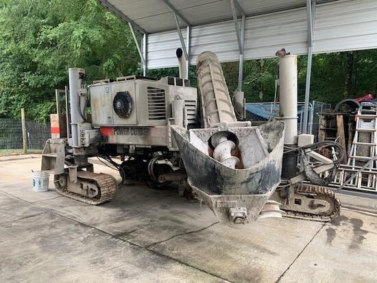 Power Curbers 5700B Crawler Curb Machine