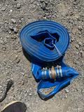 New 2IN x 50FT discharge water hoses