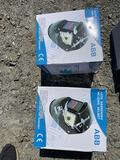 2 New auto darkening welding helmets UNUSED