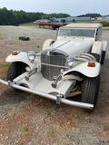 Excalibur 2 Door Convertible Car