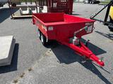 King Kutter RK Sub-Compact 1.5T on Dump TRL W/Pump ADPT