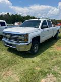 2016 Chevrolet 2500HD 4x4 Crew Cab Pick Up Truck