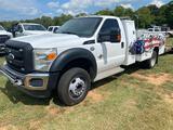2011 Ford F 550 Reg Cab Service Body Truck