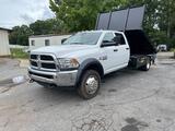 2017 Dodge 5500 Crew Cab 4x4 Flat Bed Dump Truck