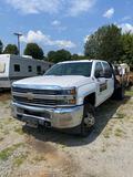 2016 Chevrolet 3500HD 4x4 Flatbed Truck