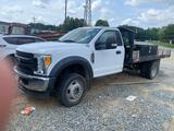 2016 Ford F550 4X4 Flatbed Truck