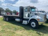 2014 Peterbilt PB348 T/A Flatbed Truck