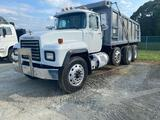 1998 Mack RD 690 Tri Axle Dump Truck