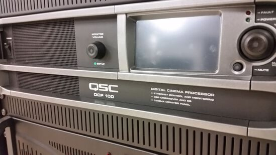QSC DCP-100 Digital Cinema Processor #1 of 2