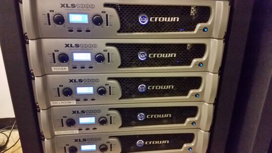 Crown Model XLs-1000 Audio Power Amp