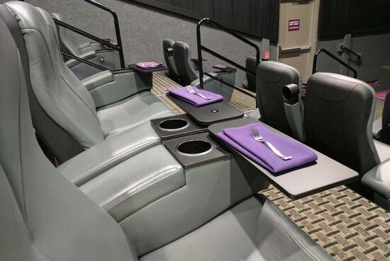 Custom Leather Theater Seats