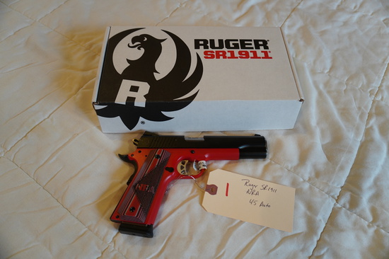 Ruger SR1911 .45 Auto NRA