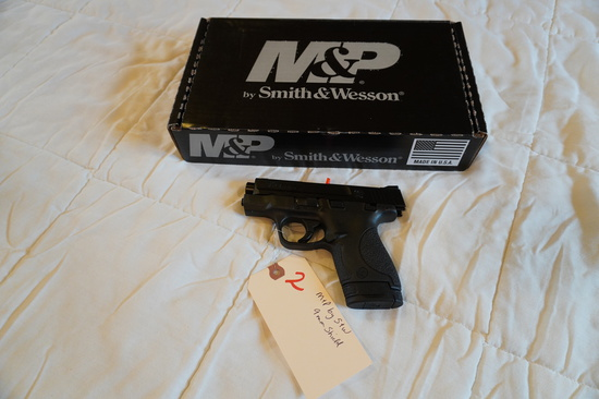 M&P by Smith & Wesson 9mm Shield