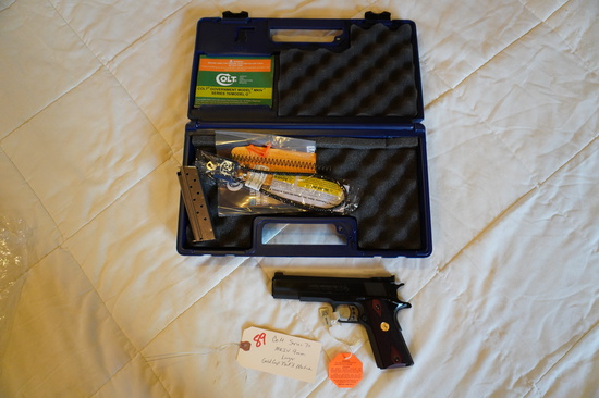 Colt Series 70 MKIV 9mm Luger Gold Cup National Match