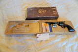 Colt Peacemaker .22 cal Revolver with Extra Cylinder & Box Packaging