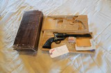 Colt (Gold Inlaid) Peacemaker .22 Revolver w/Extra Cylinder