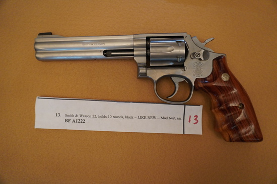 Smith and Wesson 22 Mod 648