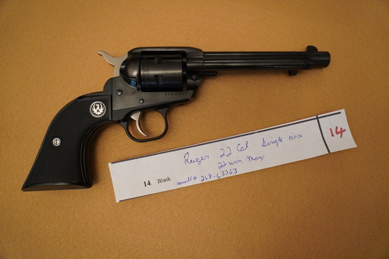 Ruger .22 Cal Single Six