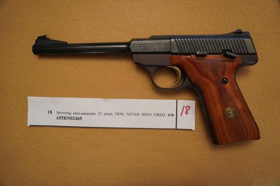 Browing Semi - Automatic 22 Pistol