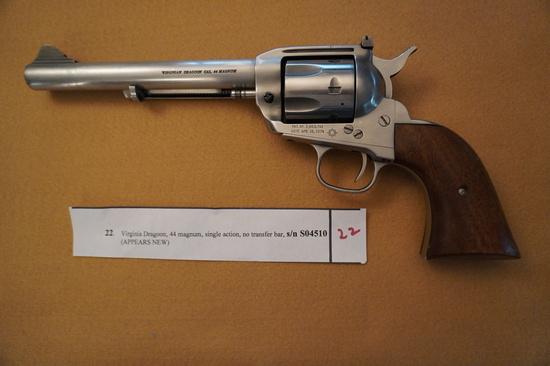 Virginia Dragoon 44 Magnum Single Action