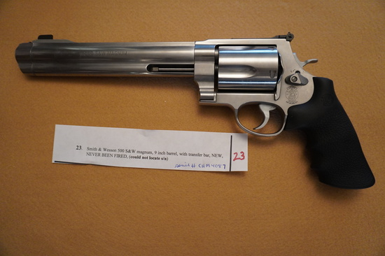 Smith and Wesson 500 Magnum