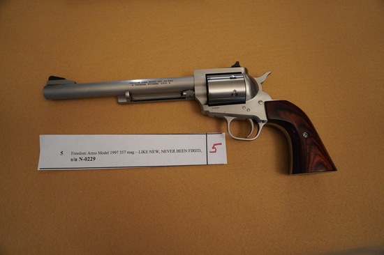 Freedom Arms Model 1997 357 Mag