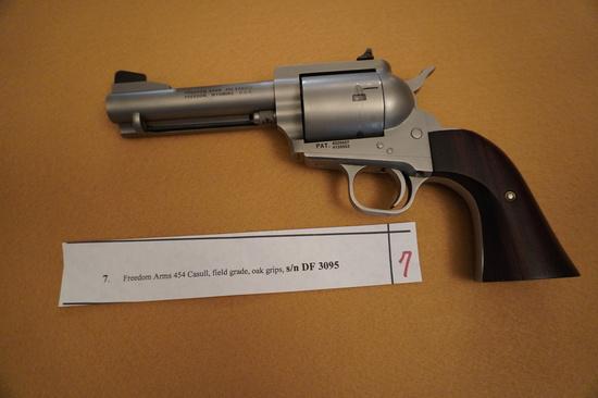 Freedom Arms 454 Casull Field Grade
