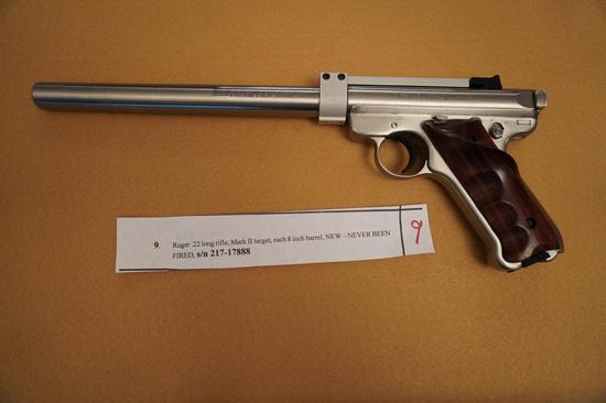Ruger .22 Long Rifle Mark II Target