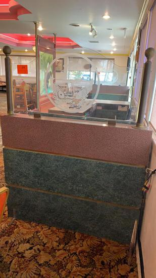 Divider with Glass