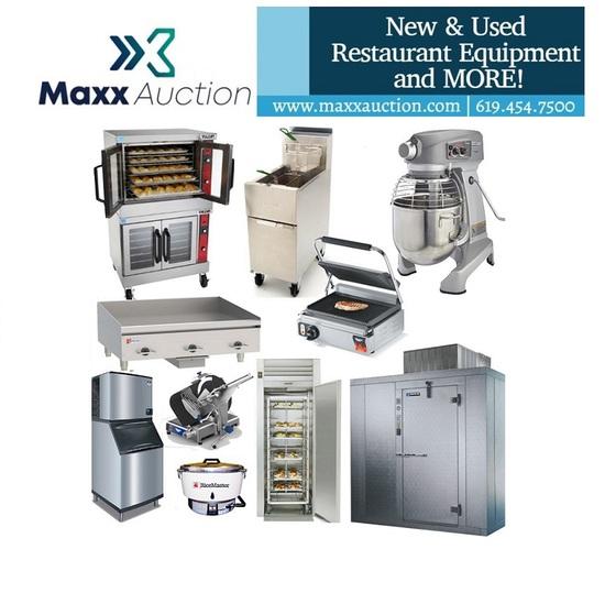 October Restaurant Equipment Sale