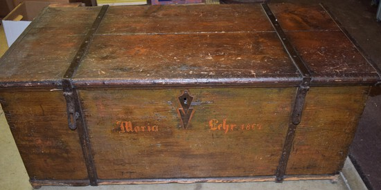 1867 Dowry Chest for Maria Lehr