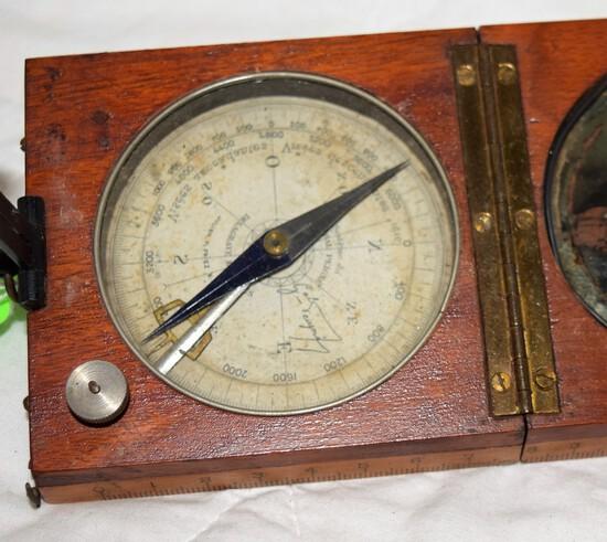 1800's French Surveyor's Compass
