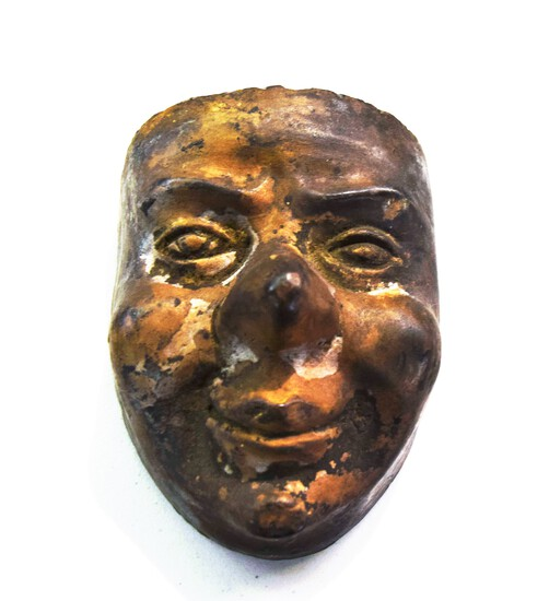 Unusual Old Pottery Face