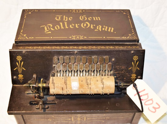 """The Gem Roller Organ"" musical instrument"