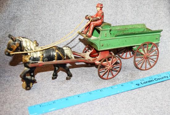 Kenton CI Horse Drawn No. 5 Wagon