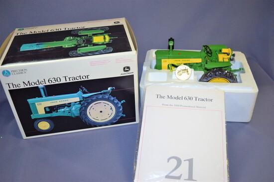 Precision Classics #21 Ertl John Deere Model 630 1/16 Scale Die Cast Tractor #15364- 2002