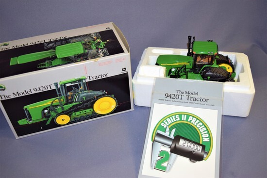 Precision Series II 1/32 scale Ertl John Deere Model 9420T Die Cast Tractor #15286- 2002