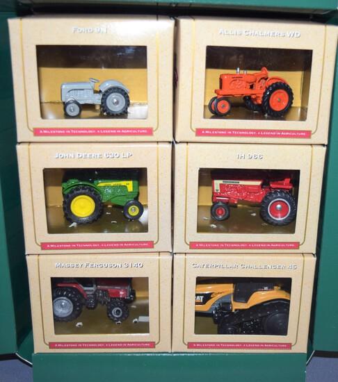 Ertl 50th Anniversary 1945-95 6 pc. Die Cast Tractor Set